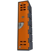 Orange Locker d series