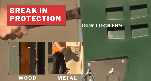 Break in Protection Lockers