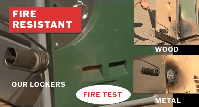 Locker Fire Test
