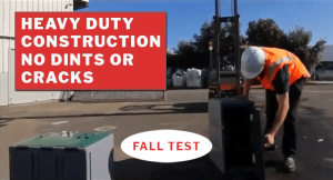 Heavy Duty Lockers fall test-Youtube