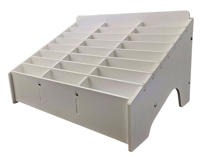 Mobile Phone Storage Box 24 slots