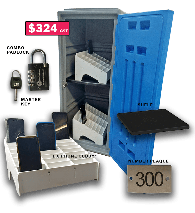 phone lock-up kit for schools Narrow