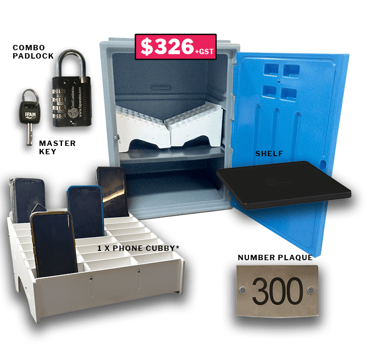 phone lock-up kit for schools Standard