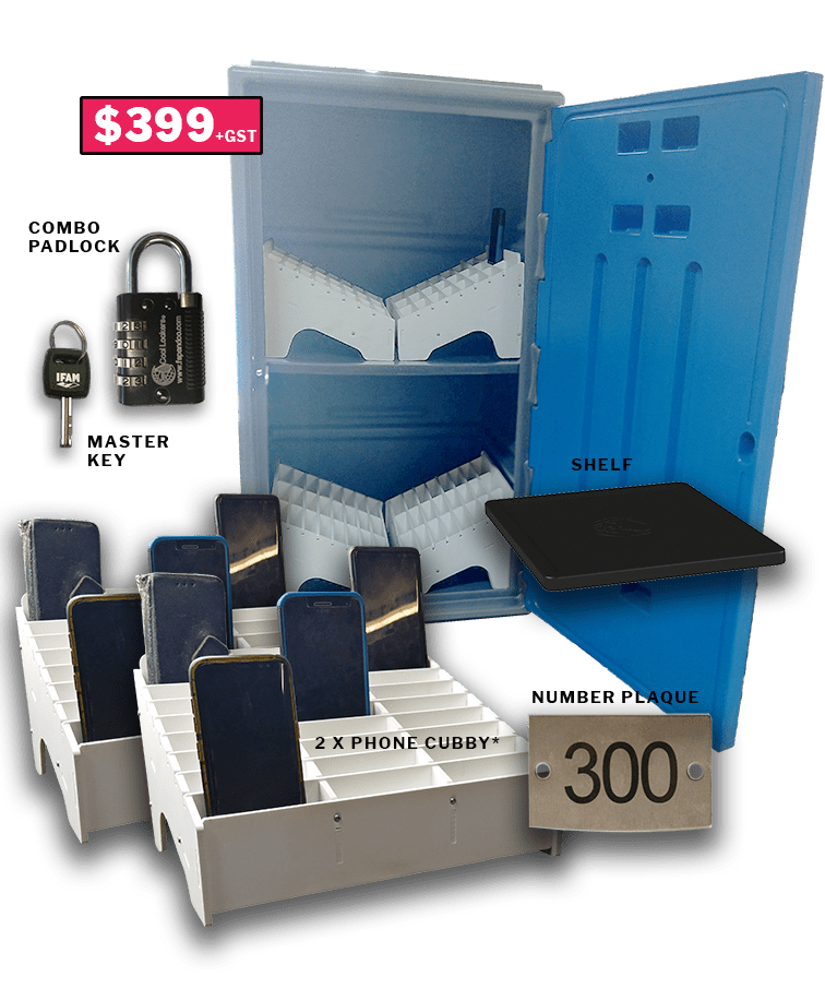 phone lock-up kit for schools-Tall