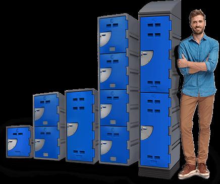Locker A Series -Blue