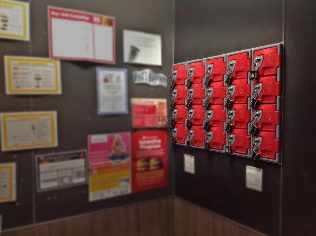 f series staff phone lockers inset