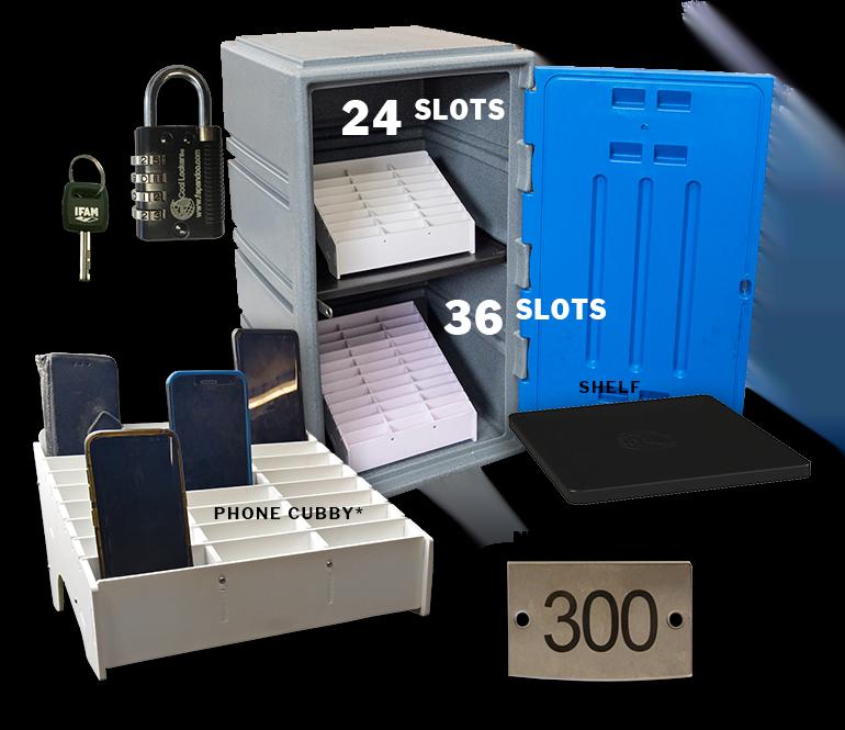phone lock-up kit for schools C4