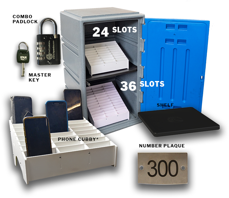 phone lock-up kit for schools C4