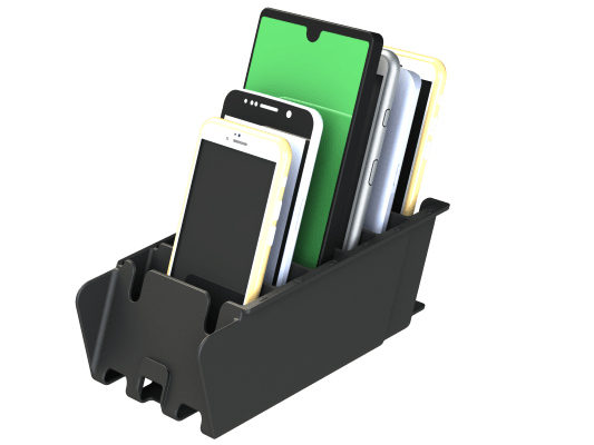 Mobil Phone Rack - Cubby Lock Box